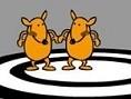 Duelliere Dich mit einem Freund im Känguru-Boxen und finde heraus, wer der bessere ist. Spiele