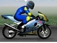 Motorrad- Wheelie