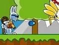 Dem Osterhasen wurde der Eierkorb gestohlen und nun musst Du ihm helfen, den Dieb zu fassen. Benutze