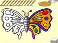 Schmetterling malen