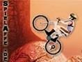 Steuerung: Pfeiltasten - Steuern Leertaste - Wenden Rase mit Deinem Mountain-Bike waghalsige Steilhä