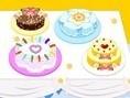 Dekoriere den Kuchentisch und prästentiere die leckeren Kuchen. Klicke auf die einzelnen Bestandteil