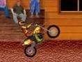 Steuerung: Pfeiltasten - Motorrad steuern Mache mit dem Motorrad waghalsige Stunts und Tricks. Währe