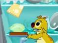 Stapel die Einzelteile des Sandwiches auf Deinem Brot und sammel so möglichst viele Punkte. Pfeiltas