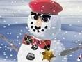 Schneemann Auch wenn draußen kein Schnee liegt um einen Schneemann zu bauen, kannst du dir diesen Sp