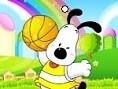 Basketball-Hund