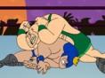 Steuerung: Maus Wähle einen Wrestler und liefere Dir einen spannenden Kampf. Jede Runde darfst Du ei