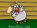 Kaleci tavuk bazý dünyalarca ünlü kalecilere taþ çýkartýyor Yapman gereken sadece kalenin içine týkl