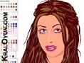 Güzel Kýzýmýz X-TINA makyajýný yapmak istermisiniz? YÖN: FARE hair-color: saç rengi highlight: saç t