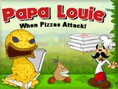 Papa Oyunlar? Orjinal ad? Papa Louie When Pizzas Attack olan bu e?lenceli platform oyununda yapman