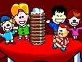 Click here to Play Boþluk tuþuna bas : Yön : Zýpla Makineden çýkan keklerin hepsini yakala ve engell