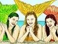 Deniz Kızlarını Boya