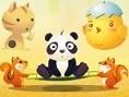 Trampolin Panda