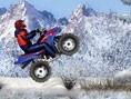Karlı ATV Motorcu