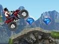 ATV Motorcu Dağda