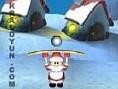 New Game týkla Kontrol: FARE Noel baba ile topu fýrlatarak bütün hediye paketlerini patlat. Hepsi bi