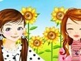 2 Girls Dress and Make Up