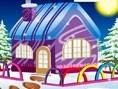 Winter Cottage Decoration