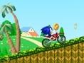Sonic und sein Motorrad