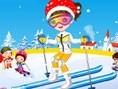 Cute Skier Dress up