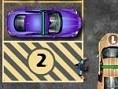 Steuerung: Pfeiltasten - Steuern Leertaste - Ein-/Aussteigen R - Reset Parke die mit Nummern markier