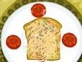 Steuerung: Maus Backe eine leckere Brot-Pizza. Folge den Anweisungen im Spiel und lege die einzelnen