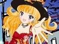 Halloween Girl anziehen 2