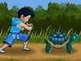 Schildkröte Werfen
