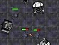 Steuerung: Maus Halte die Roboter und Zombies mit Deinen Verteidigungsanlagen davon ab, auf die ande