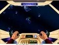 Steuerung: Pfeiltasten - Raumschiff steuern Leertaste - Schießen Schieße in einer bestimmten Zeit so