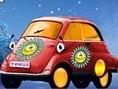 Miniautodesign Die beiden Miniautos sollen in der Werkstatt eine neue Lackierung bekommen. Du hast b