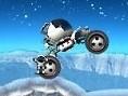 Manövriere Dein Mondauto durch hügelige Mondlandschaften. Pfeiltasten - Steuern Eingabe-Taste - Wend