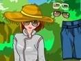 Safarigirl anziehen