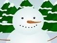 Schneemann 2 Wer hat denn da so einen tollen Schneemann gebaut? Aber es fehlen ihm noch die Anziehsa