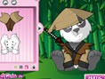 Panda Anziehen