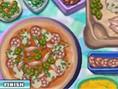 Pizza im New York Stil