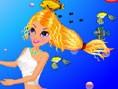 Hübsche Meerjungfrau