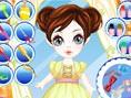 Frisur der kleinen Prinzessin
