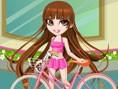 Vivian und ihr Fahrrad