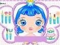 Blue-Haired Girl Make Up