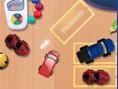Spielzeugautos Parken