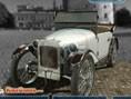 Klassische Autos einparken