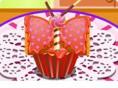 Butterfly Banana Cupcake