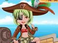 Piratenmädchen Anziehen