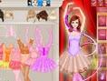 Hübsche Ballerina anziehen