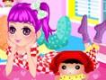 Niedliches Pyjama Mädchen