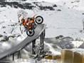 Motorrad Winter Parcours
