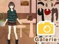 Café-Mädchen