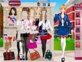 Schulmädchen Mode
