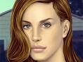 Lana Del Rey schminken